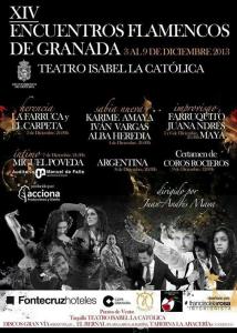 XIV Encuentros Flamencos de Granada