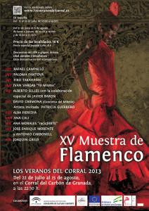XV Muestra de Flamenco - Los veranos del Corral